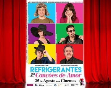 «Refrigerantes e Canções de Amor»   Bilhete + Pipocas   6 Cinema City