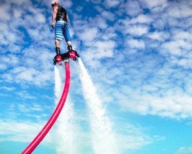 Flyboard a Dois no Water Park Gerês | 30 Minutos | Voe Sobre a Água!