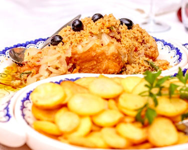 Gastronomia Tradicional para Dois |  Quinta de Resela Restaurante - Vila Verde