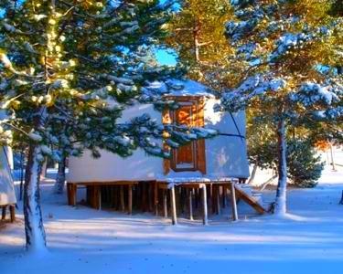 Vale do Rossim Eco Resort - Serra da Estrela | Noite a Dois em Yurt c/ Opção Jantar