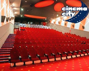 Bilhete de Cinema + Pipocas no Cinema City | 6 Locais