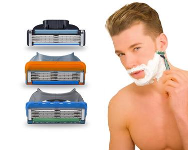 Lâminas de Barbear Compatíveis | Fusion, Mach3 ou Fusion Proglide!