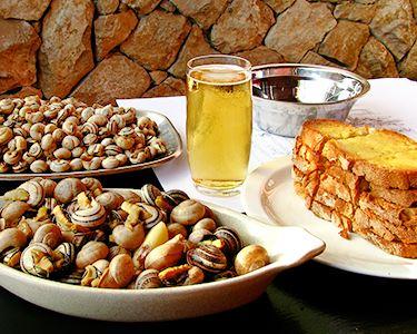 Sabores de Verão: Dose de Caracóis e Prego no Pão para Dois! Matosinhos