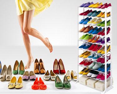 Organizador de Sapatos - 30 Pares | Funcionalidade em Sua Casa