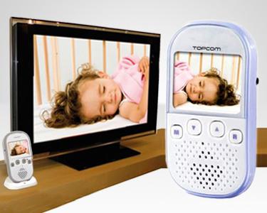Intercomunicador com Câmara de Vigilância para Bebés