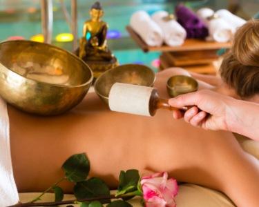 Massagem Gongo e Taças Tibetanas + Sauna + Jacuzzi | Om Sangha Spa
