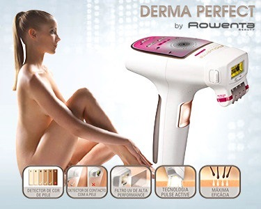 Depiladora Luz Pulsada Derma Perfect by Rowenta®