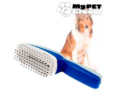 Escova iónica para Cães e Gatos | Elimina Cheiros ao Pentear
