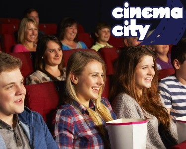 Bilhete de Cinema + Pipocas no Cinema City | 6 Locais
