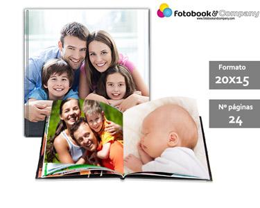 Álbum Fotográfico 24 Páginas | Capa Dura e Personalizada
