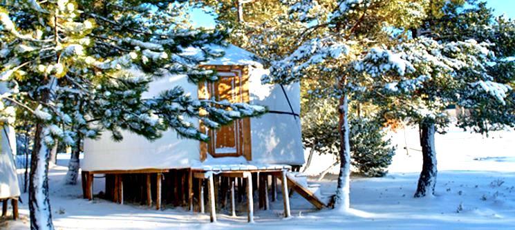 Vale do Rossim Eco Resort - Serra da Estrela   Noite a Dois em Yurt c/ Opção Jantar