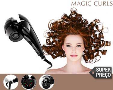 Encaracolador Magic Curls® | Caracóis c/ Efeito Profissional!