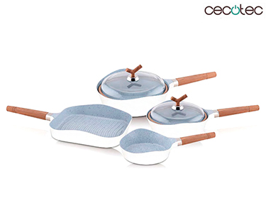 Conjunto de Frigideiras Premium Cecotec® | 6 Peças