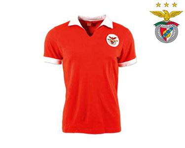 Camisola do Benfica | Polo Retro Campeões Europeus 60-61