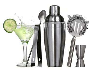 Kit Profissional Cocktail com 5 Acessórios | O Gin Tónico Ideal!