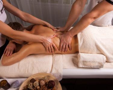 Massagem a 4 Mãos! Relaxamento a Dobrar | Sta. Catarina