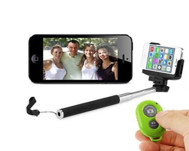 Kit Selfies | Braço Extensível com Comando Bluetooth à Distância