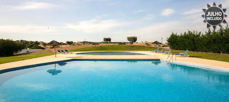 Verão no Alentejo | 2 a 3 Noites em Moradia para até 8 Pessoas na Herdade do Gizo