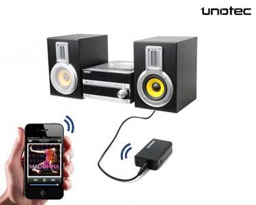 Transmissor Bluetooth Unotec® Airjack | Excelente Qualidade Áudio!