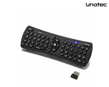 Teclado Wireless FlyPad II c/ Rato | Unotec®