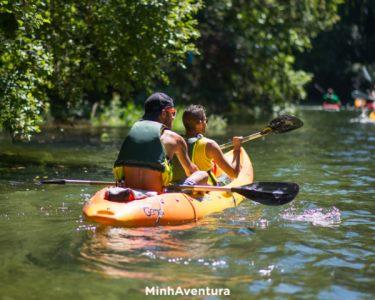 Descida do Rio Coura em Kayak para Dois | Aventura na Natureza