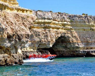 Passeio de Jet Boat! Emoção & Adrenalina no Costa Algarvia | Albufeira