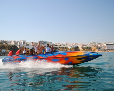Alta Velocidade na Costa Algarvia! Passeio no Ocean Rocket + Foto