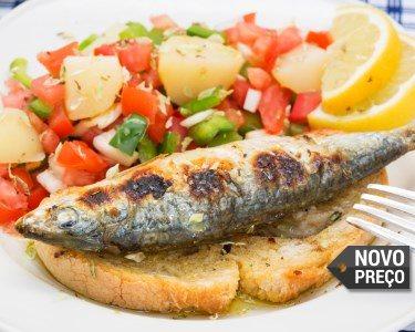 Sardinhas à Discrição c/ Batatas e Salada para Dois | Sete Rios