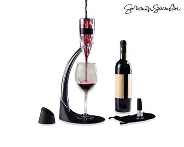 Decantador de Vinho Profissional | Tower Design com Torre