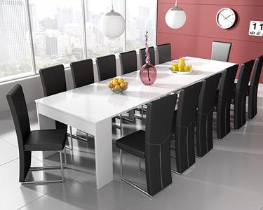 Mesa de Jantar Extensível até 3 Metros | Prática e Moderna