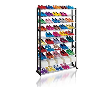 Organizador de Sapatos 50 Pares | Prático e Portátil