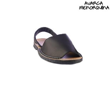 Sandálias Menorquinas   Preto