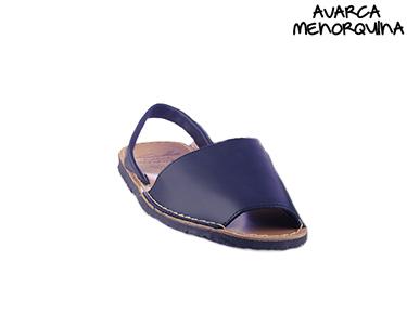 Sandálias Menorquinas   Azul Navy