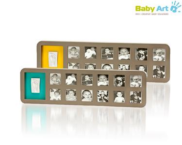 Moldura Primeiro Ano do seu Bebé | Baby Art®