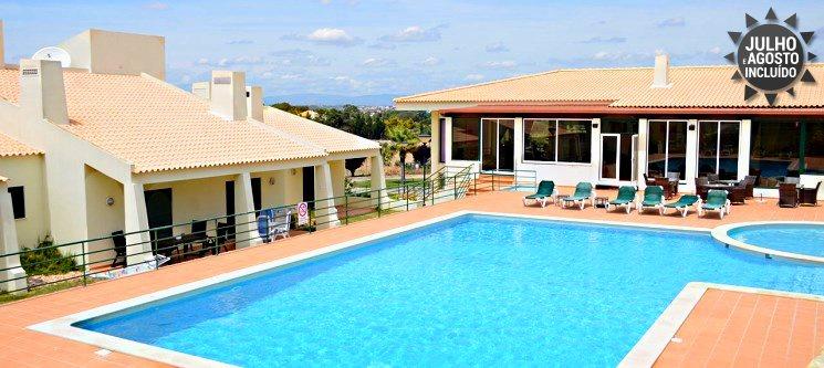 Férias no Algarve - T2 até 6 Pessoas | 2, 3, 5 ou 7 Nts no Resort Glenridge Junto à Praia dos Salgados