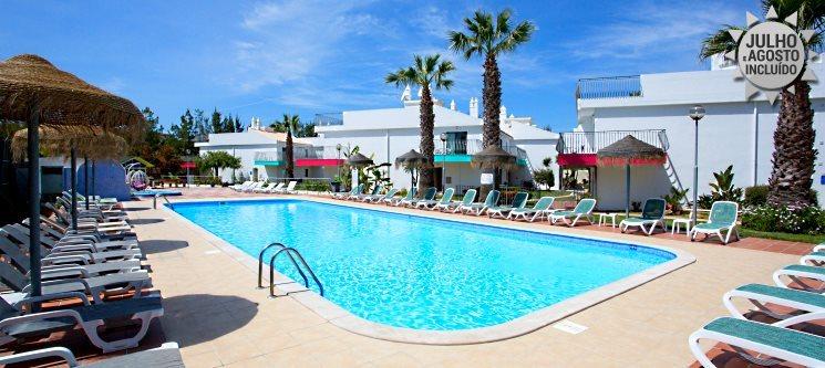 Algarve   1 a 7 Noites de Férias em Apartamento T1 ou T0 na Praia dos Salgados