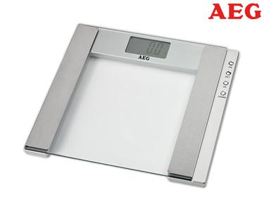 Balança AEG 5 em 1 | Análise de Peso, Gordura, Líquidos, Massa Óssea & Muscular