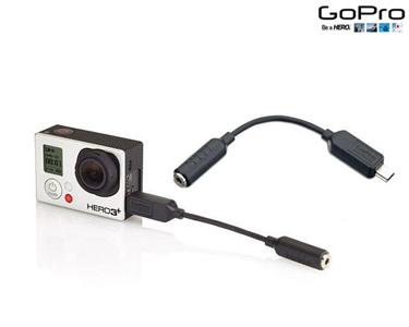 Cabo Micro 3,5MM | Adaptador Microfone HERO3