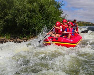 Rafting no Rio Guadiana | 4 Horas de Aventura Aquática!