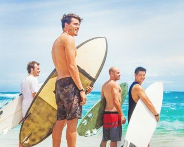 Ondas Radicais! Aula de Surf | Escola de Surf Grande Onda | Carcavelos