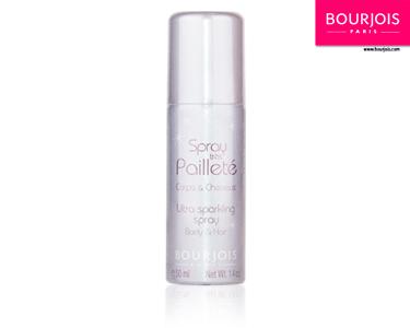 Spray de Brilho Cabelo e Corpo Bourjois® | Escolha a Cor