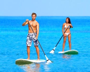 Experiência Stand-Up Paddle | Oeiras ou Amora | 1h | Diversão a Dois!