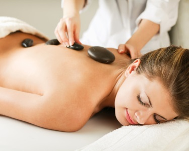 Massagem Relax Mix: Geotermal + Aromaterapia + Head | Av. 5 Outubro