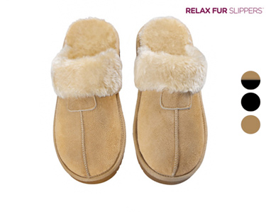 Chinelos Relax Fur | Cores à Escolha