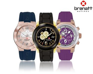 Relógio Brenatt Made With Swarovski® Elements | Modelos à Escolha