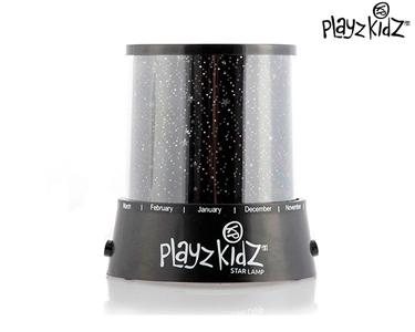 Lâmpada LED Projecta Estrelas | Playz Kidz