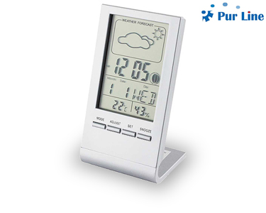 Despertador Digital com Estação Meteorológica Ws01