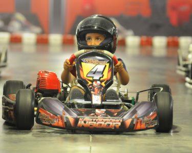 Experiência Kart Indoor para Crianças! Pódio Imediato