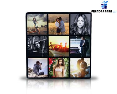 Tela Personalizada com Design Especial | Montagem 4 ou 9 Fotos