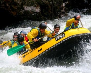 Baptismo de Rafting no Rio Paiva - 1 ou 2 Pessoas | Luso Rafting